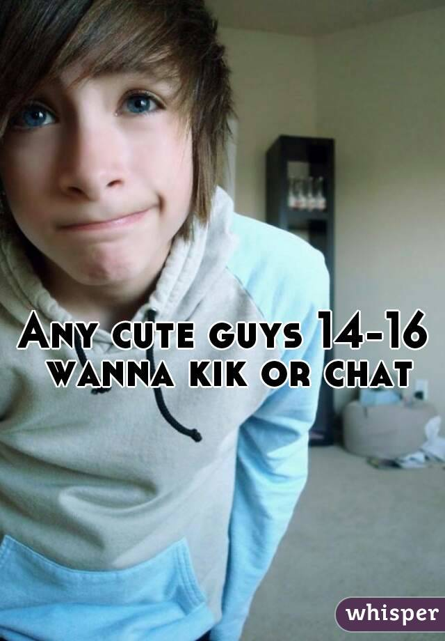 chat with cute guys