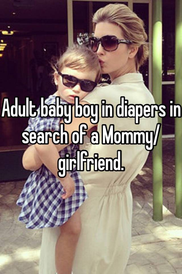 Abdl mommy stories