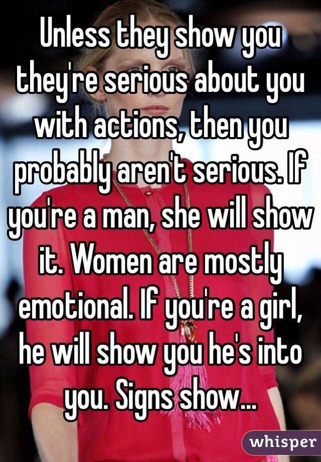 signs a woman is into you