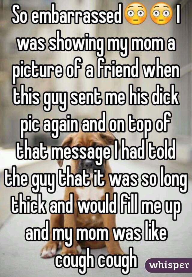 Blackmail My Friend Mom