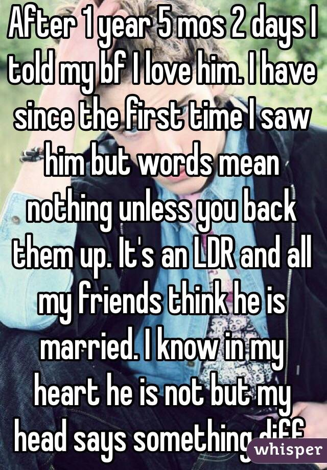 words to my boyfriends back