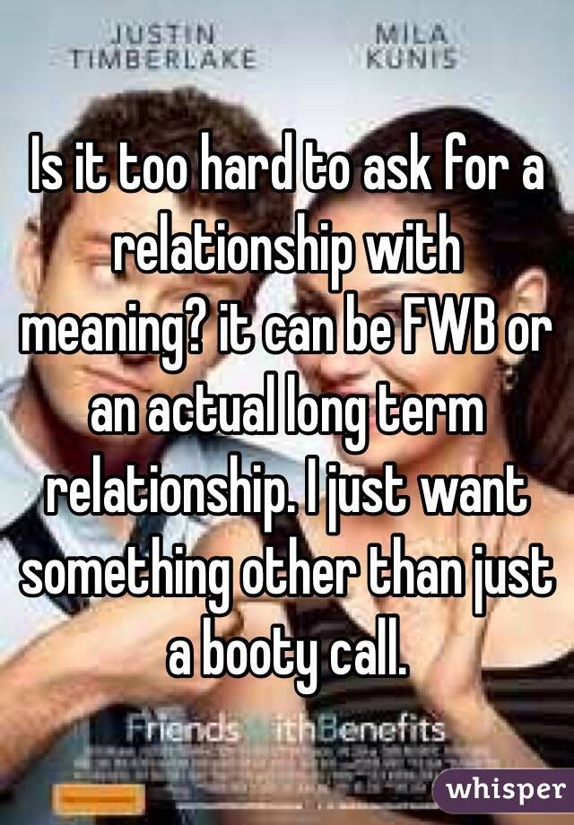 meaning of long term relationship