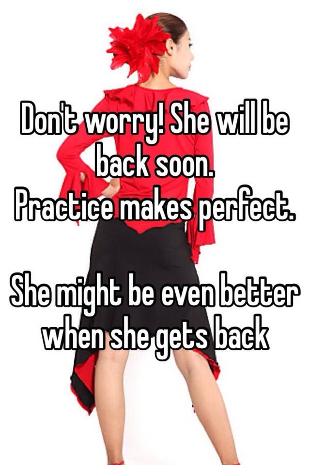She will come back images