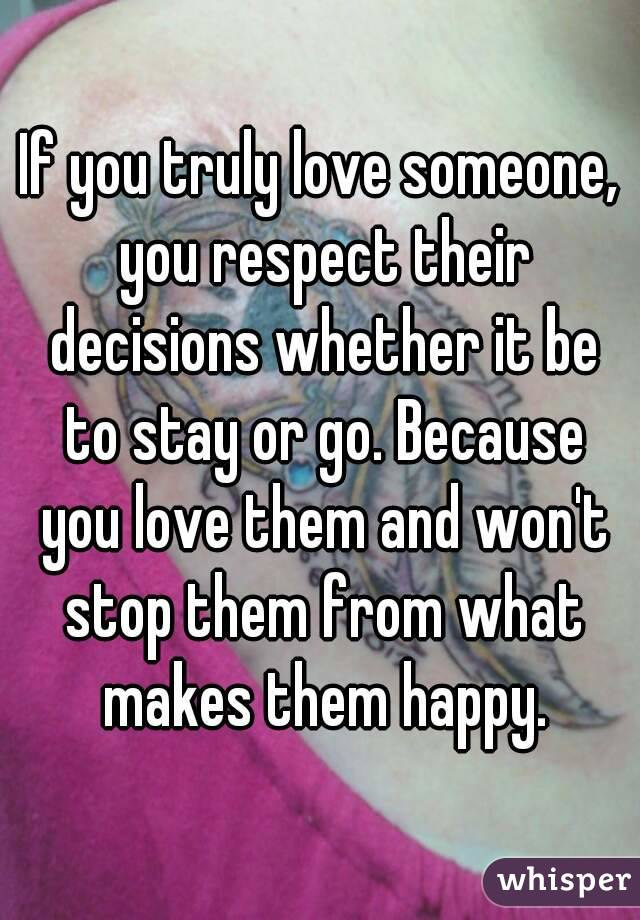 someone you respect
