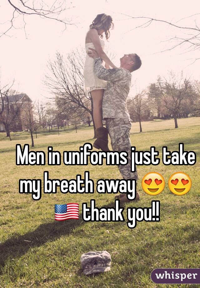Men in uniforms just take my breath away 😍😍🇺🇸 thank you!!