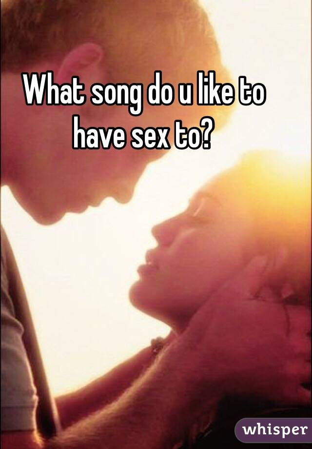 Sex in the morning song