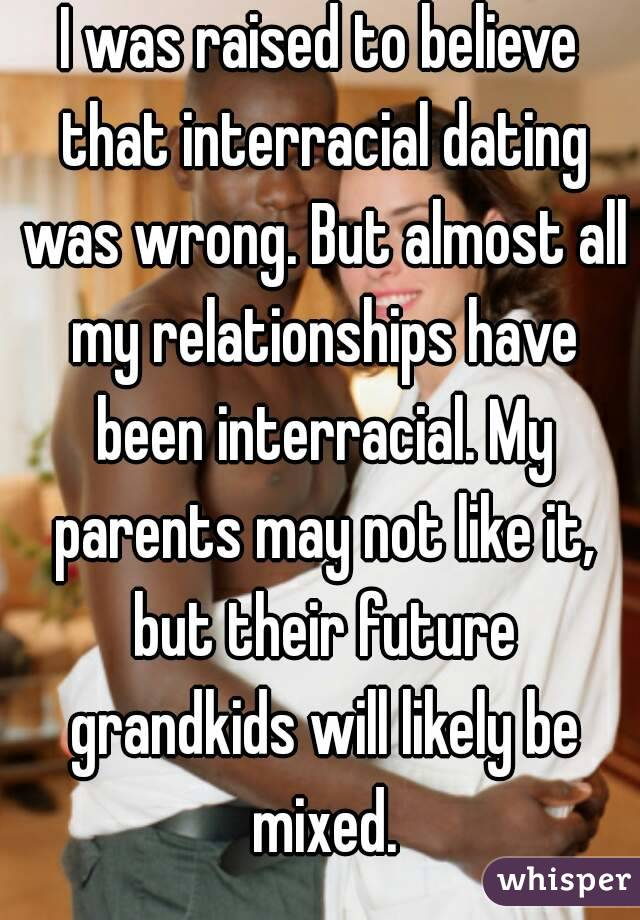 interracial dating confessions