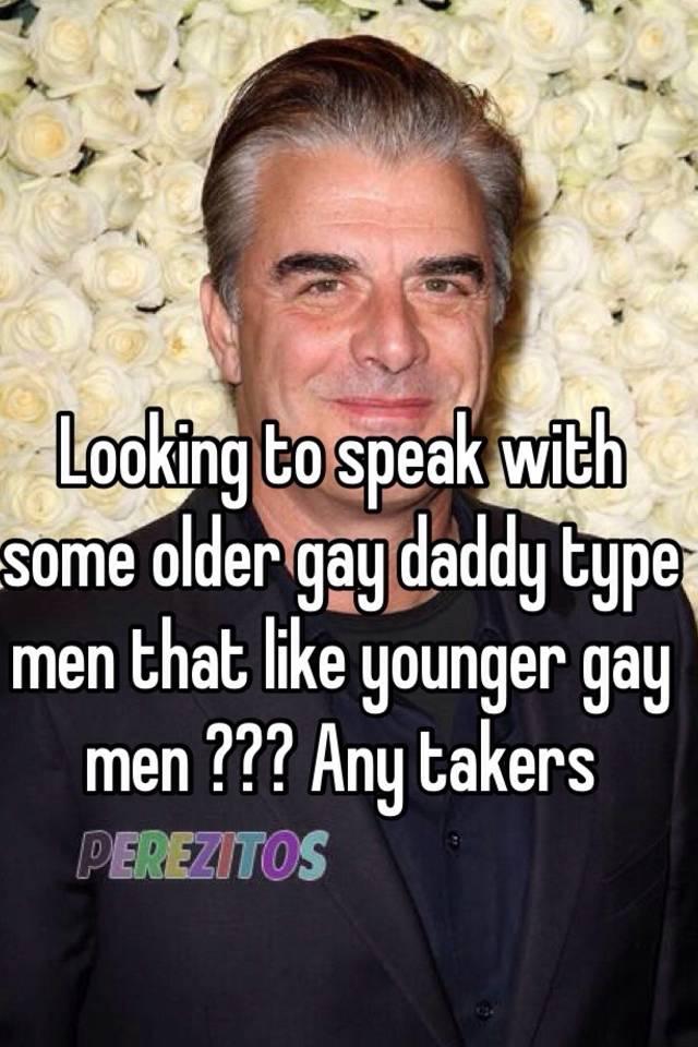 Why i like older gay men
