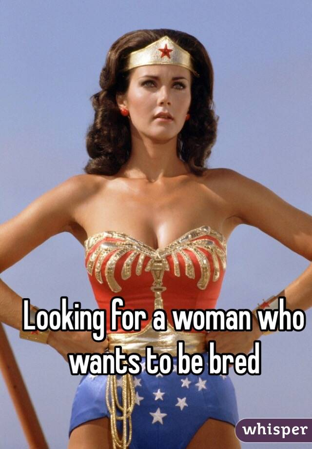 To Wife Bred Wants Be