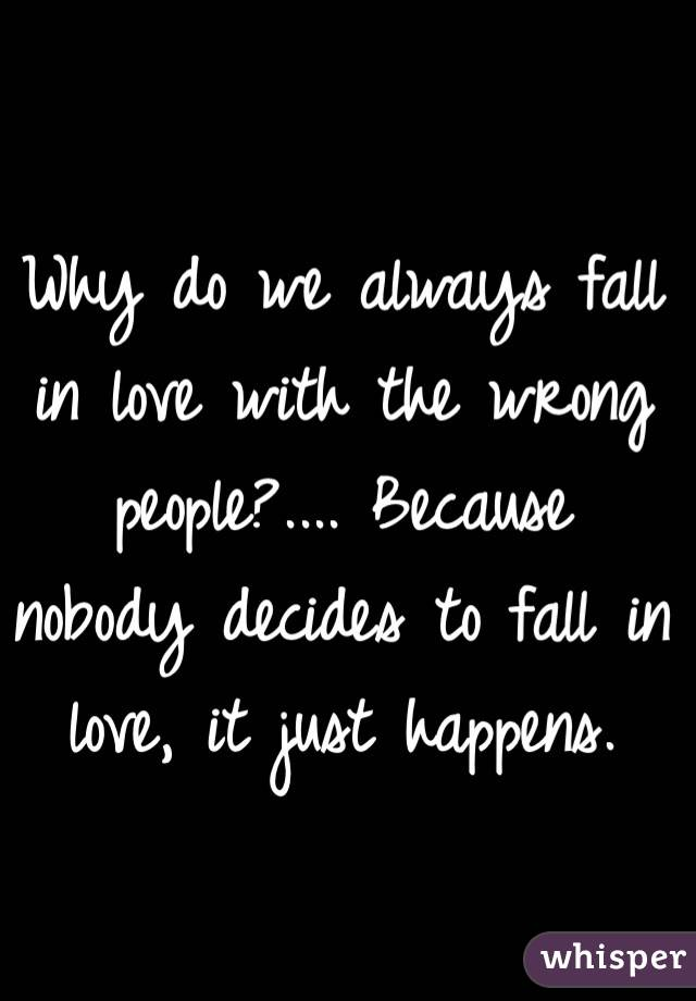 What Makes People Fall In Love