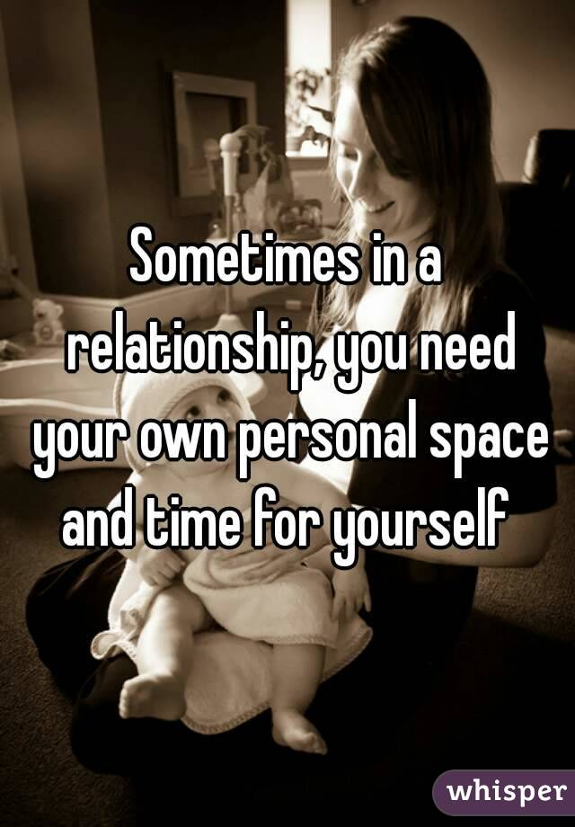 space and time in a relationship