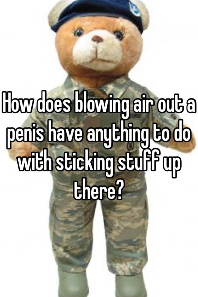 penis in Air blowing