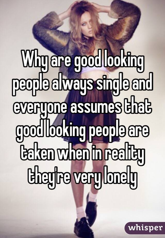 why are some people always single