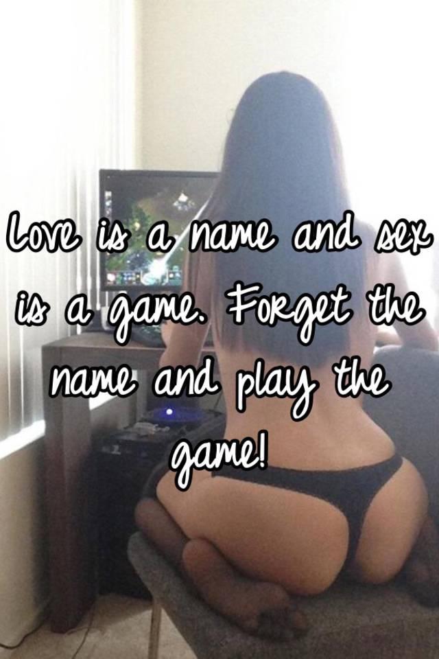 Игра секс в любовь