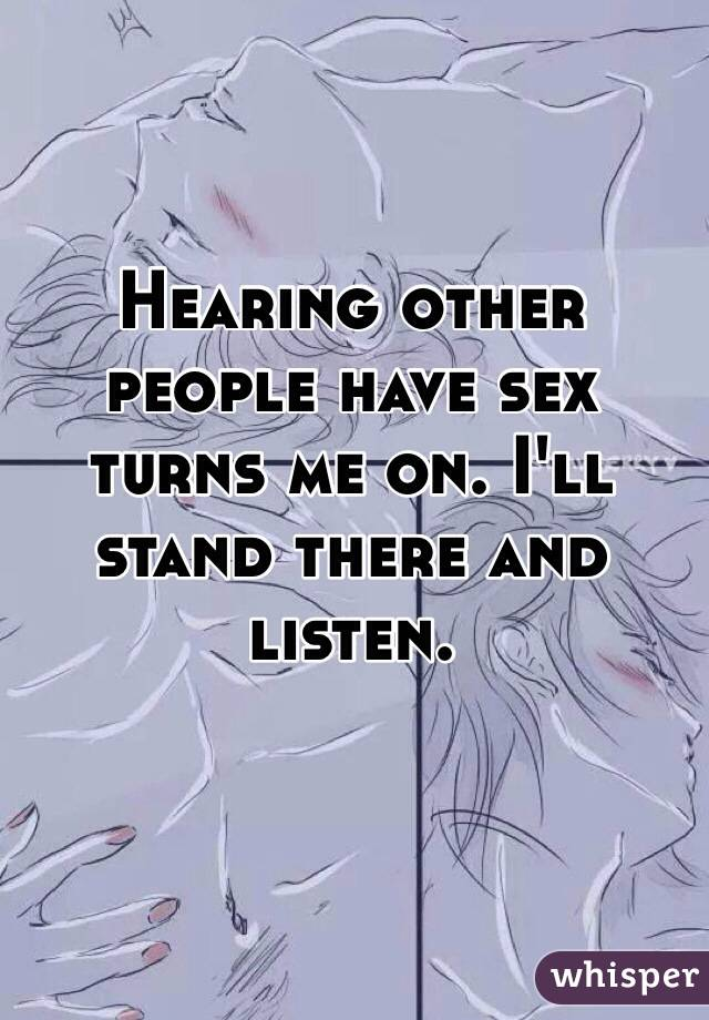 Hearing people have sex