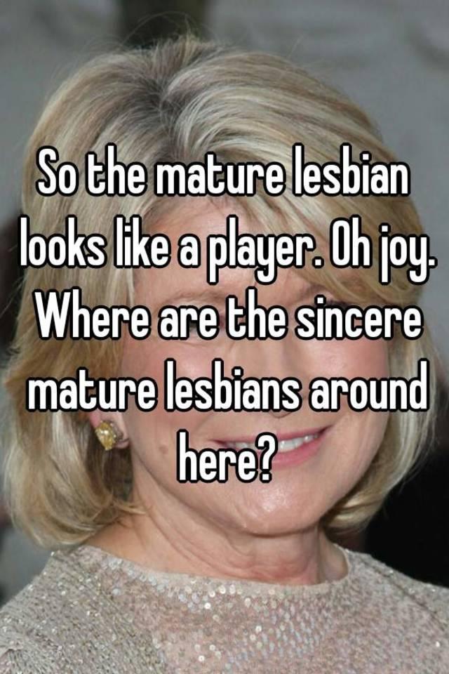 Interesting. free mature lebians