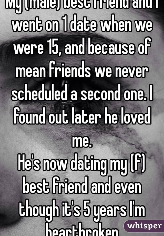 We went from dating to friends
