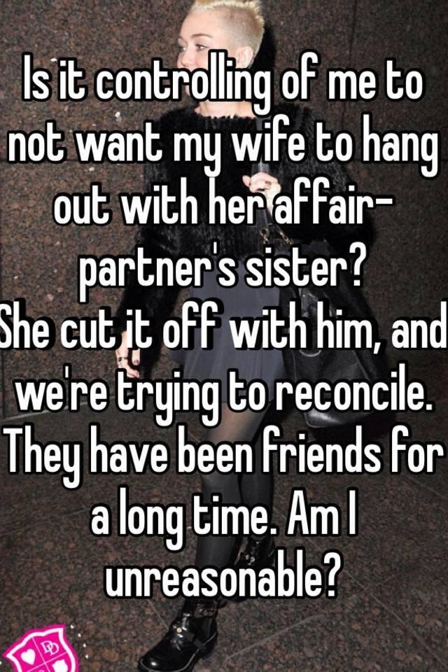 I married my affair partner