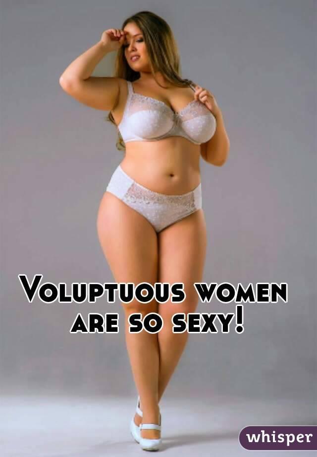 Pictures of voluptuous women