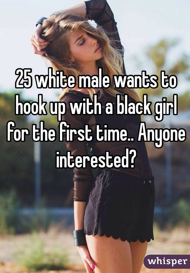 Girl hookup a girl for the first time