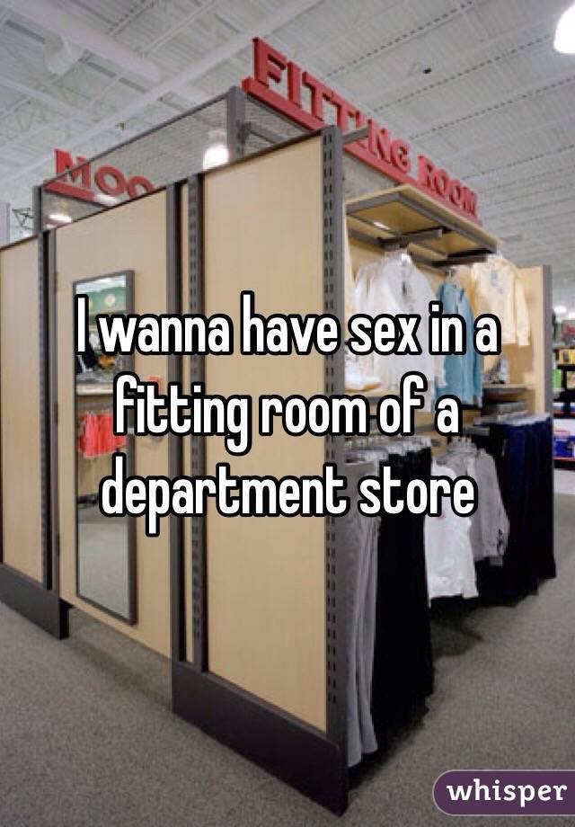 Department store change room sex