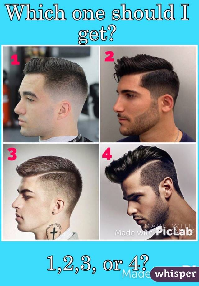 Which one should I get?           1,2,3, or 4?