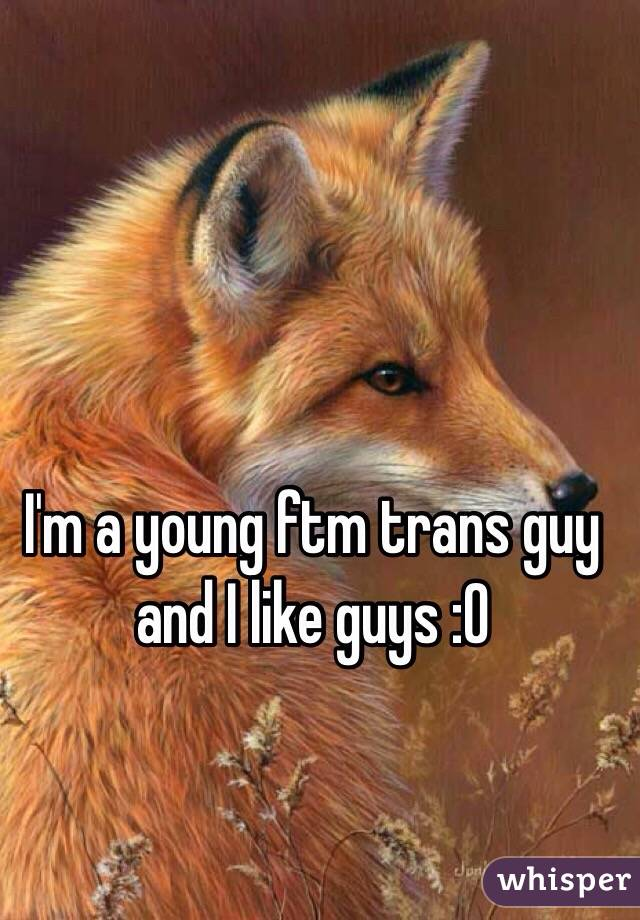 I'm a young ftm trans guy and I like guys :0