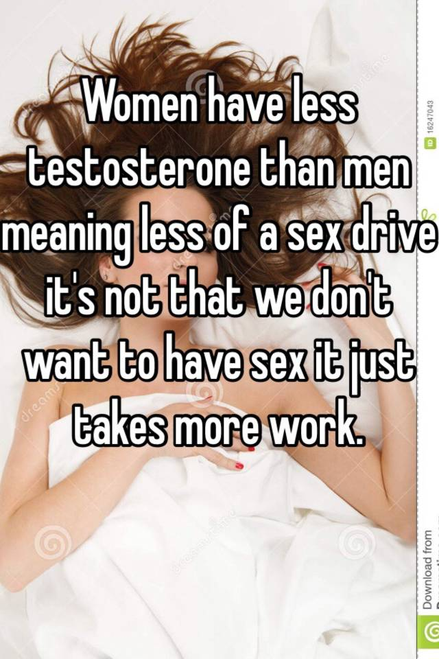 Apologise, womens sex drive and testosterone apologise, but