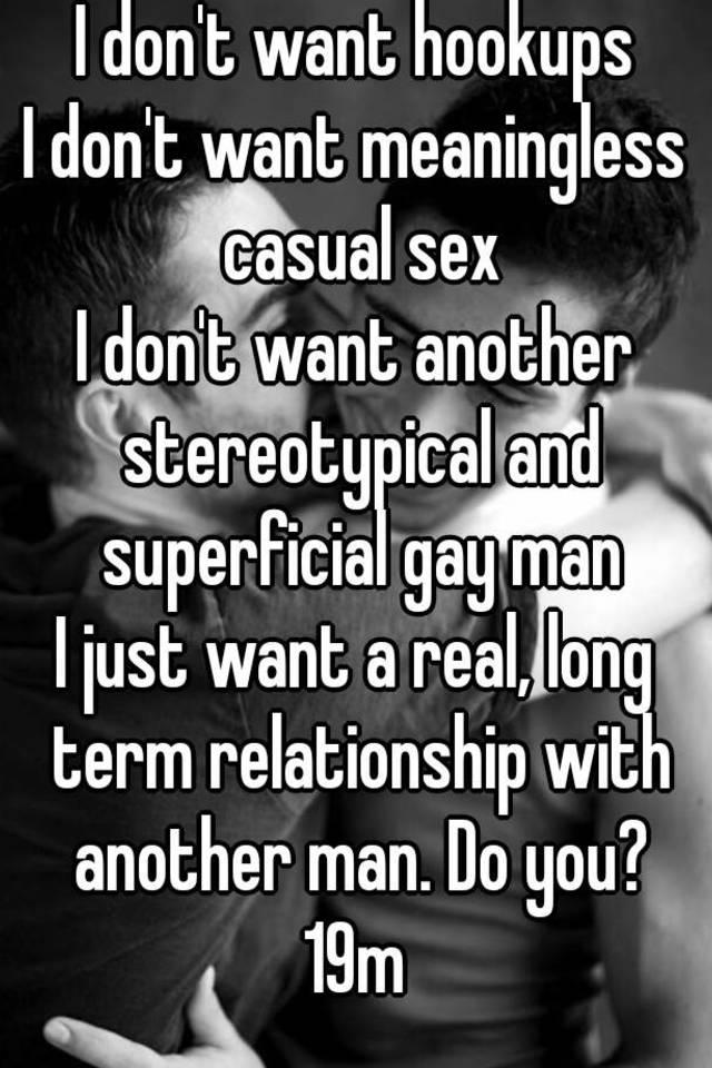 Casual gay hookups