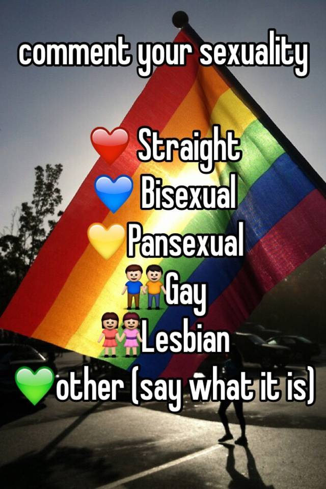 At what age do you know your sexuality