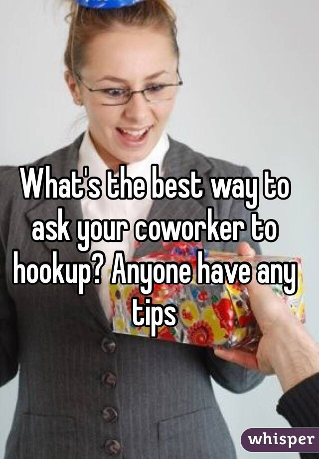 Is hookup co workers a good idea