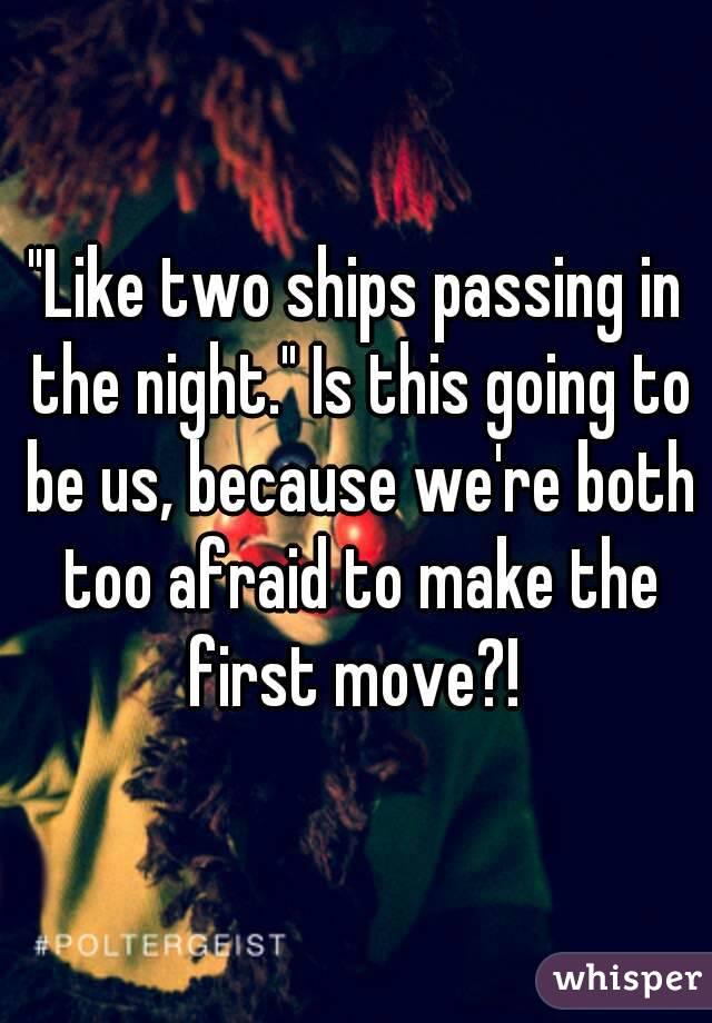 like two ships