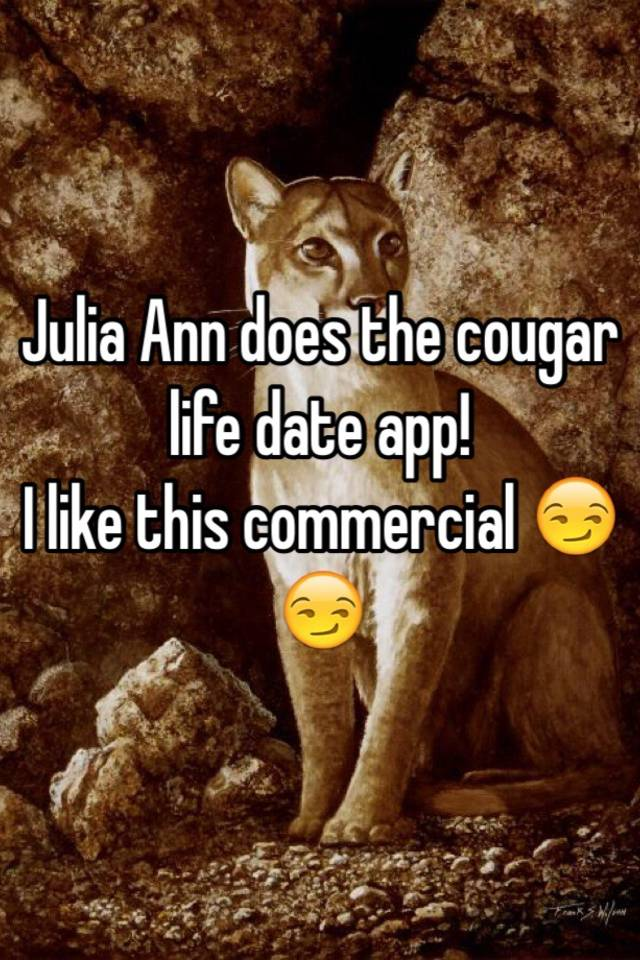 Date a cougar commercial