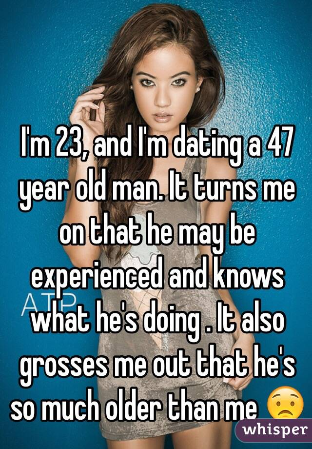 23 year old man dating