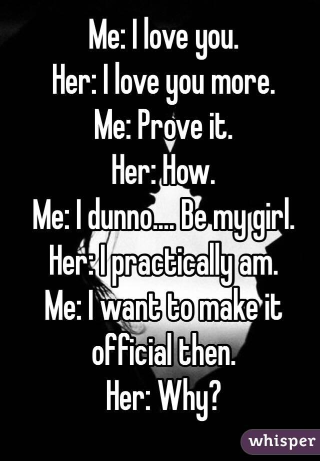 How to make a girl like u more
