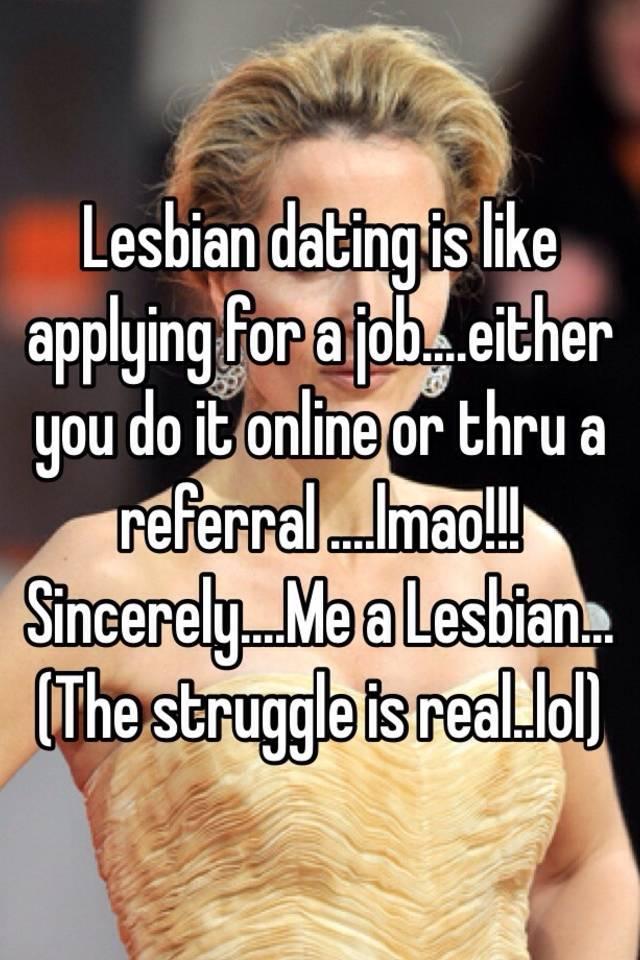 Lesbian dating meme