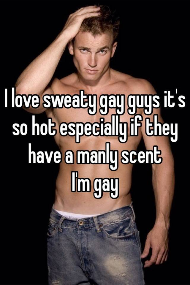 Sweaty gay guys