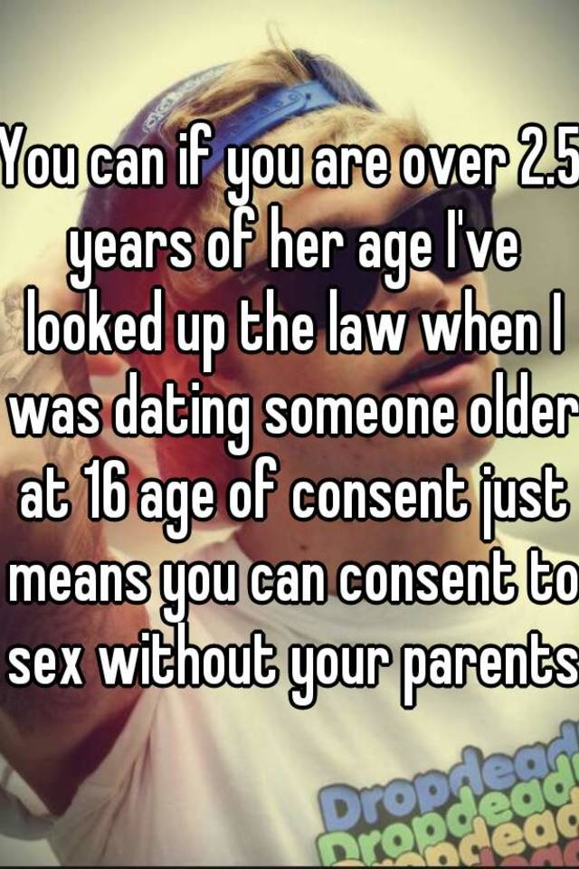dating someone the same age as your parents