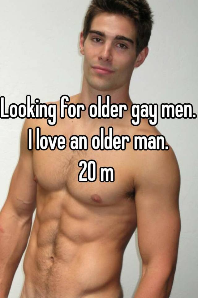 Men looking for gay men