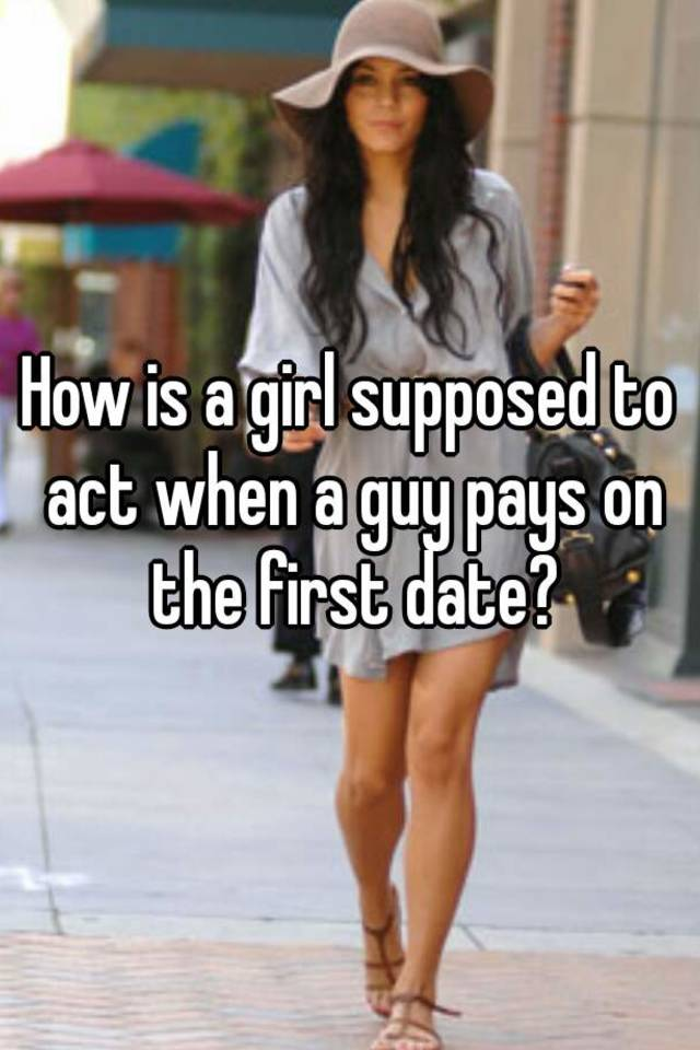 How to act on a date
