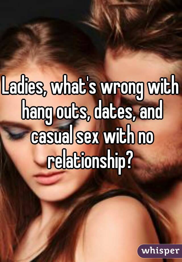 Whats casual sex