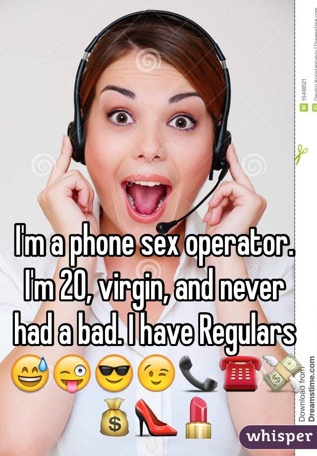 Phone sex operator pay
