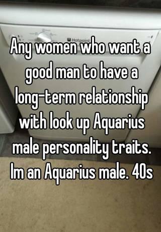 aquarius males in relationships