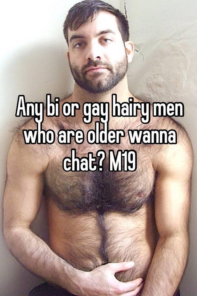 Hairy bi men