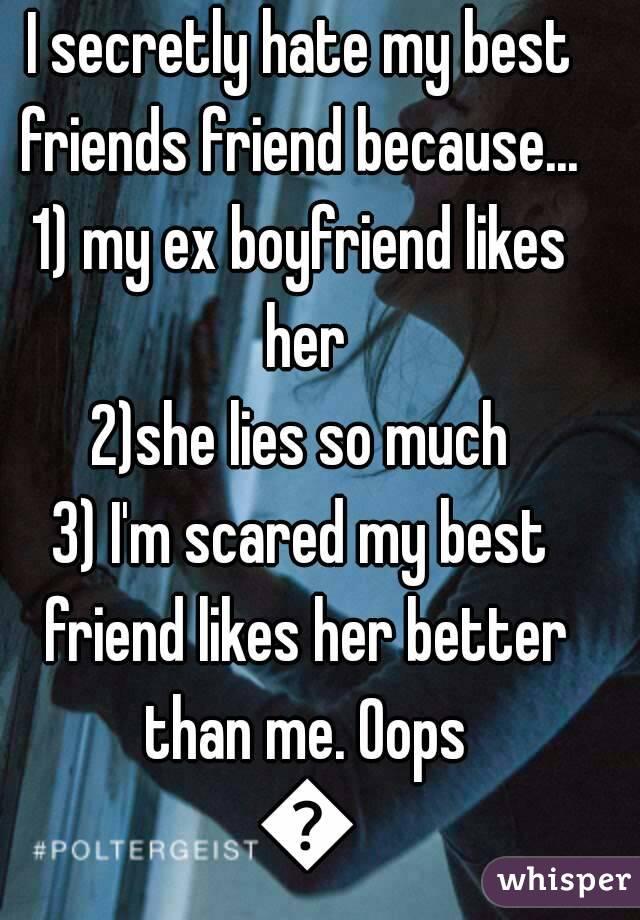 Friends hate my boyfriend my ex Ask Dr.