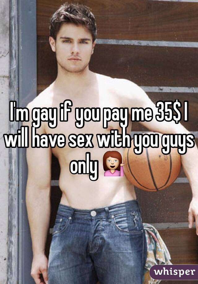 Pay me for sex