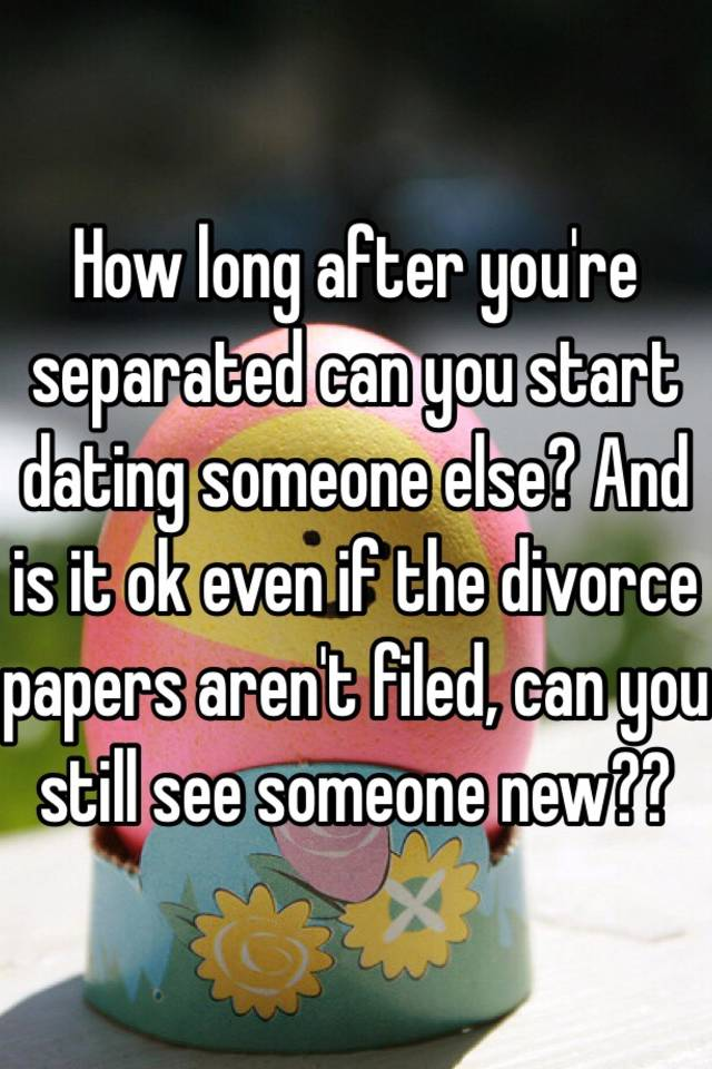 Just started dating someone new after divorce