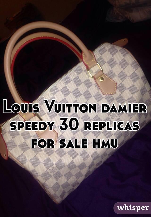 Louis Vuitton damier speedy 30 replicas for sale hmu