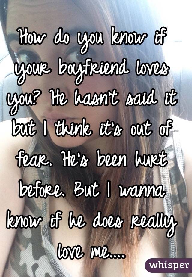 Is he really in love with you