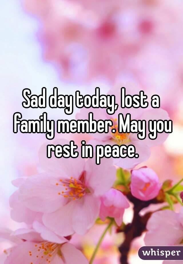 For lost family member